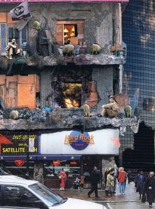 Hard Rock Cafe Burning