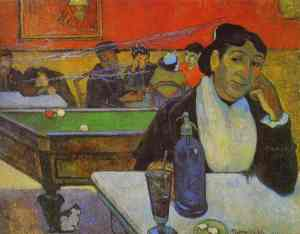 gauguin night cafe